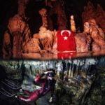 Шаика Еркюмен - туркинята, която счупи световния рекорд по пещерно гмуркане (ВИДЕО)