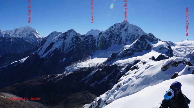 връх чукима го, хималаи