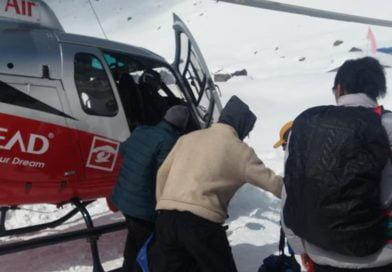 Нови лавини спряха издирването на изчезналите седем души под базовия лагер на Анапурна (СНИМКИ)