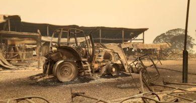австралия пожари ски курорт