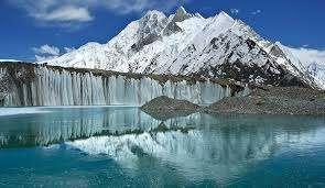 езеро на ледника Балторо, Каракорум, Пакистан