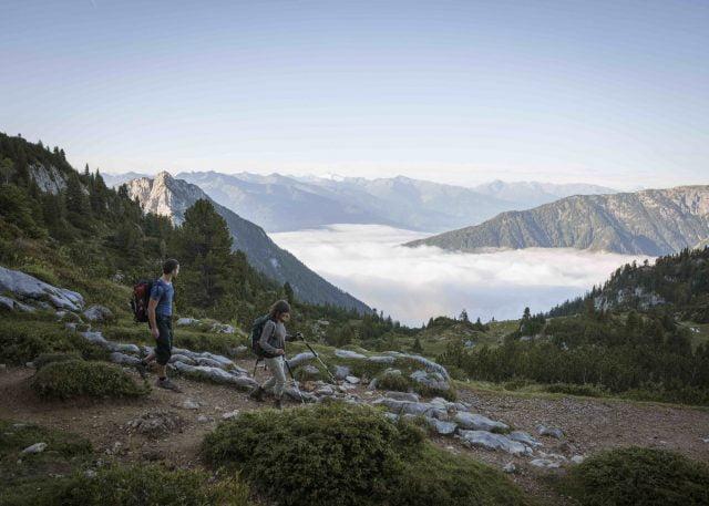 игъл уолк пътека австрийски алпи тирол