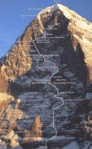 маршрут северна стена айгер