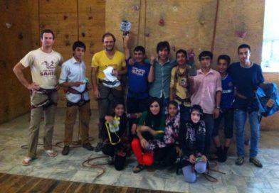 Първо състезание по катерене в Афганистан