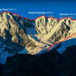 Симоне Моро и Тамара Лунгер пробват най-високия траверс в зоната на смъртта