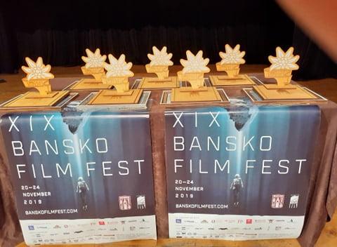 Банско филм фест 2019 Върхове награди