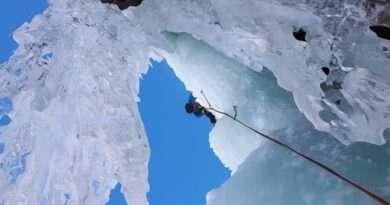 ледено катерене, Върхове