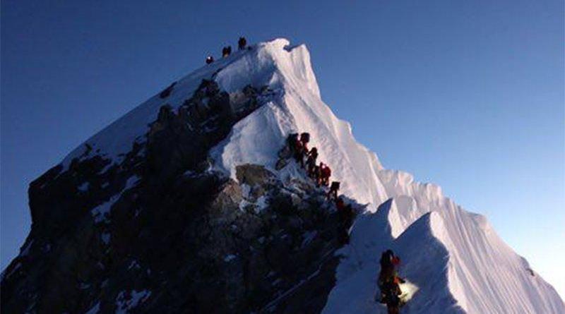 Еверест, Върхове