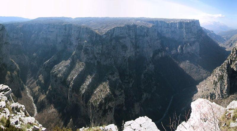каньон викос