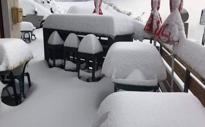 сняг алпи