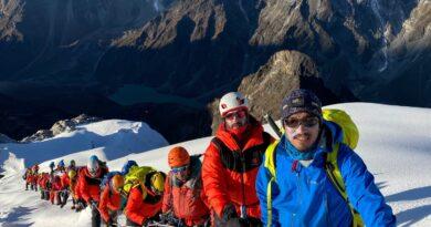 експедиция Бахрейн Хималаи, Върхове