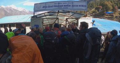 непал блокада, Върхове