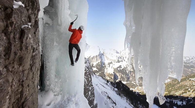 дани арнолд фрий соло замръзнал водопад
