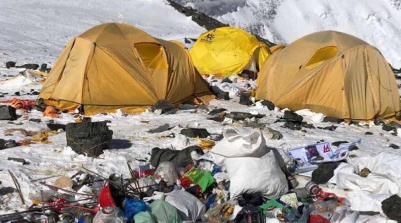 боклуци лагер на еверест, върхове