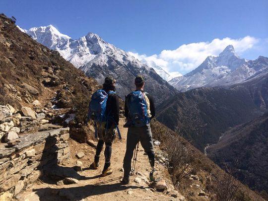 ветерани на трекинг към еверест