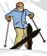 getting-up-ski