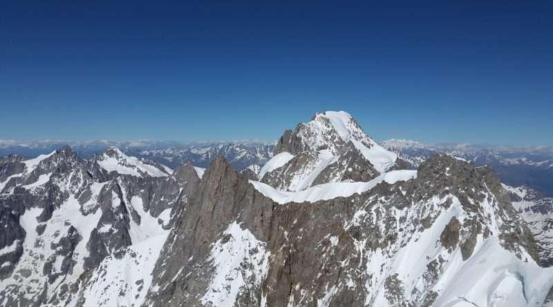 връх Гранд Жорас, Алпи