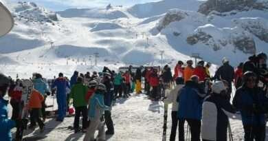 Ишгъл, Австрия, ски курорт
