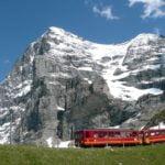 Приключение във високите Алпи - Айгер, Юнгфраубан
