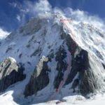 Първо изкачване на северния ръб на Латок I