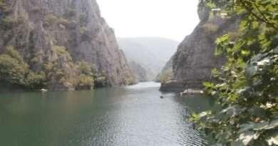македония матка, голям каньон