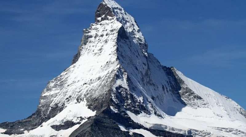 връх матерхорн швейцарски алпи