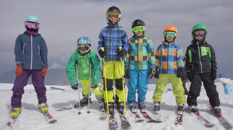 деца ски