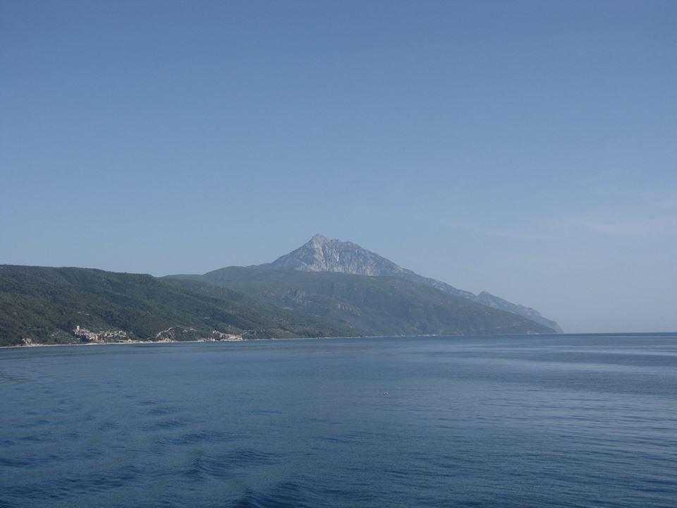 връх атон гърция