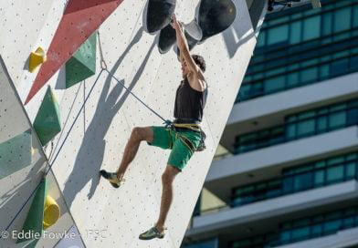 Петър Иванов шести в катеренето на Младежките олимпийски игри