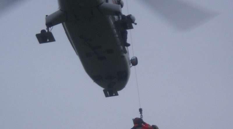 въздушно спасяване, върхове