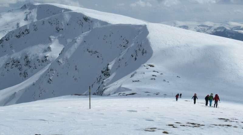 ски туринг, Върхове