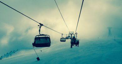 ски лифт
