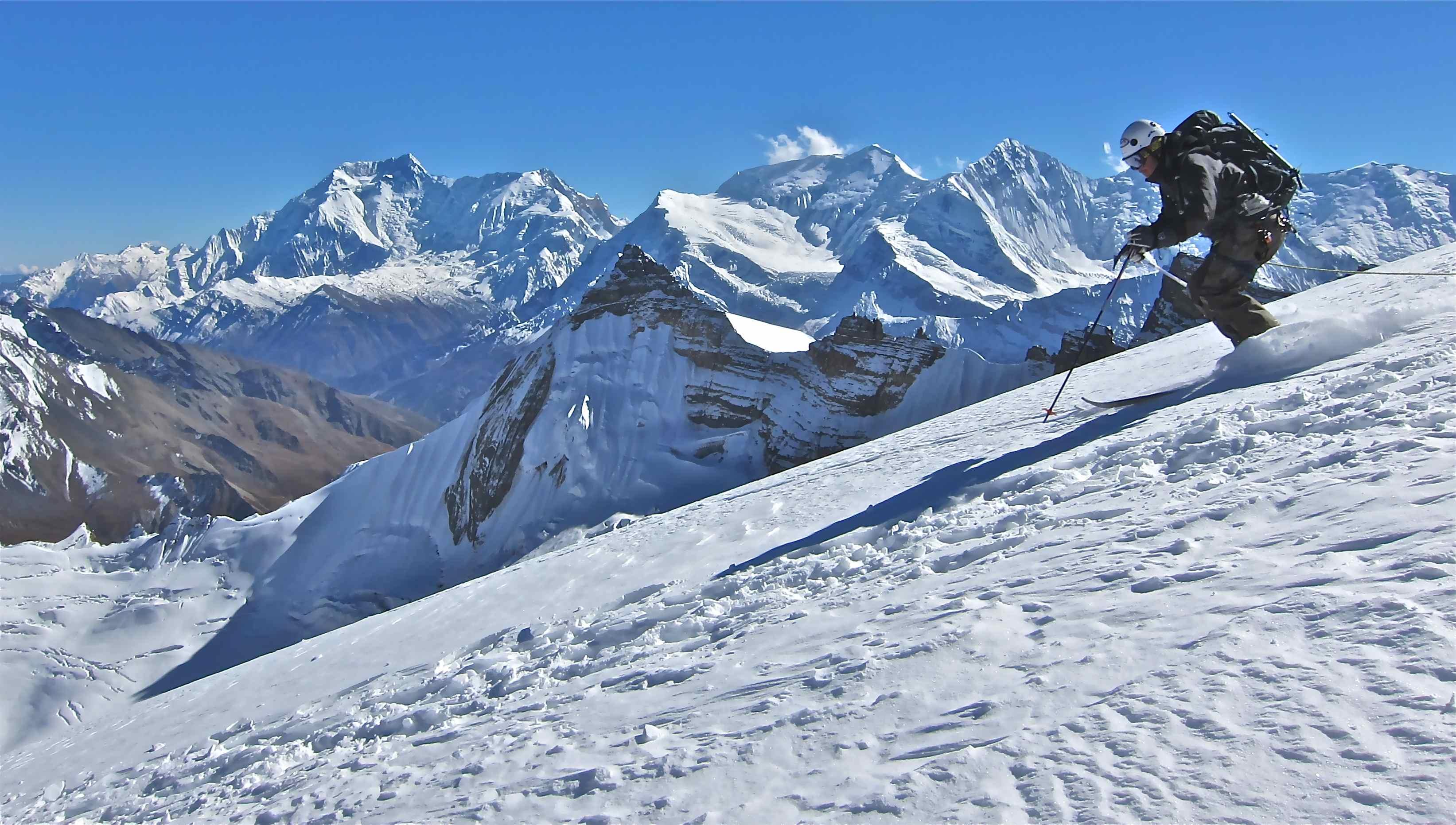 На ски в Хималаите