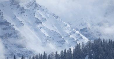 доломити, сняг