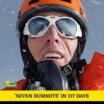 Seven Summits  - за рекордно кратко време