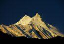 Връх Манаслу (8163 м) по изгрев