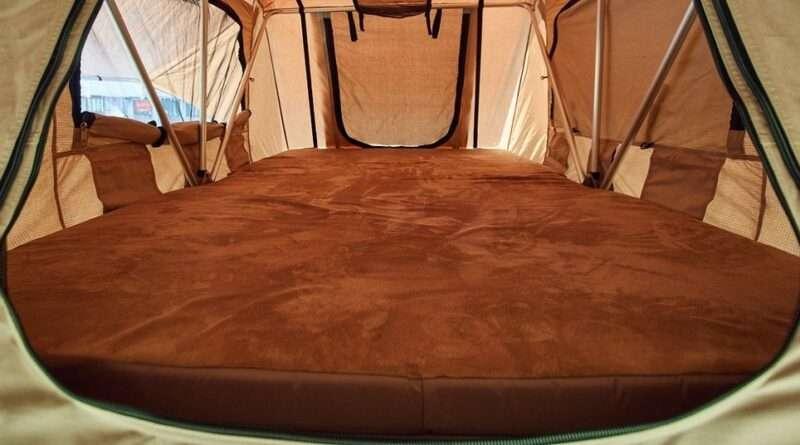 спална постелка палатка