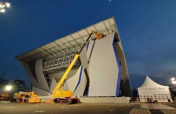 катерачна стена, олимпйски игри токио