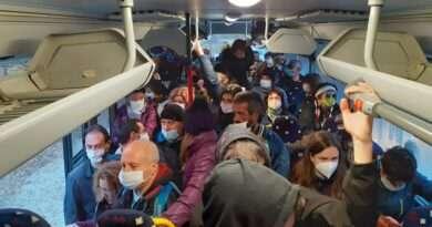 витоша претъпкан автобус