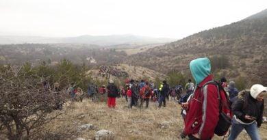връх стража изкачване природа трън